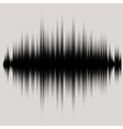 sound waves set Audio equalizer technology vector image vector image
