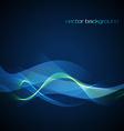neon wave vector image