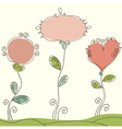 Nice doodle background vector image