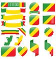 Republic of the congo flag vector image