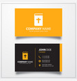 bible icon business card template vector image vector image