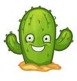 cactus vector image vector image