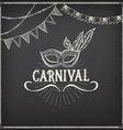 Carnival icons sketch design vector image