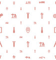 engineering icons pattern seamless white vector image vector image