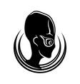 extraterrestrial alien sign vector image vector image