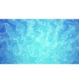 hand drawn artwork on water marble texture blue vector image vector image