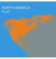 north america vector image vector image