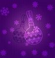 patternBallsLines vector image vector image