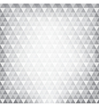 Abstract background grey continuous triangle vector image vector image
