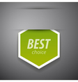Best choice sticer vector | Price: 1 Credit (USD $1)
