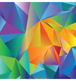 crystal background vector image vector image