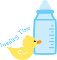 Feeding Time vector image
