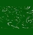 green digital marbling elegant marbled background vector image vector image