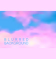 horizontal wide blue pink sky blurred background vector image vector image