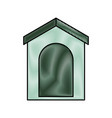 italian house icon vector image