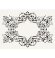 Old antique high ornate frame vector | Price: 1 Credit (USD $1)