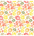 Simple flower background vector image vector image