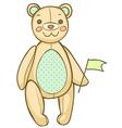 soft teddybear vector image vector image