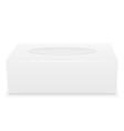 tissue box 01 vector image vector image