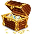 treasures box vector image vector image