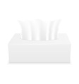 tissue box 03 vector image