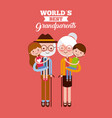 best grandparents design vector image vector image