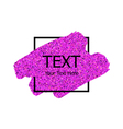 glitter background5 vector image vector image
