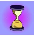 hourglass pop art