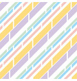 pale color stripe pattern seamless pattern vector image vector image