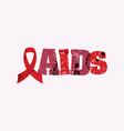 Aids concept stamped word art