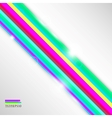 Dynamic colorful stripes background vector image vector image