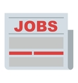 Job search icon vector image vector image