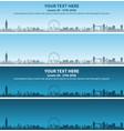 london skyline event banner vector image