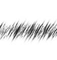 monochrome printing raster abstract vector image vector image