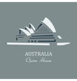 opera house sydney vector image vector image