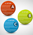 3D progress buttons vector image
