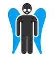 death angel flat icon vector image