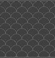geometric circles pattern - seamless vector image vector image