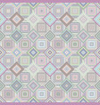 geometric diagonal square pattern - mosaic tile vector image vector image