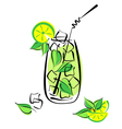 Mojito vector | Price: 1 Credit (USD $1)