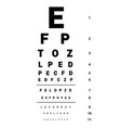 oculist vector image