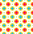 Seamless Texture with Geometric Shapes Colorful vector image