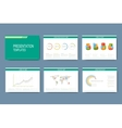Set of infographic templates for vector image vector image