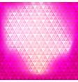 Abstract background pink continuous triangle vector image vector image