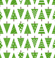 Abstract christmas trees seamless background