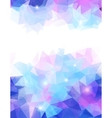 Abstract grunge triangle vector image vector image
