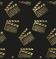 clapper board sketch isolated design element vector image