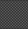 diamond plate metal texture background striped vector image vector image