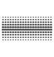 photo camera shape halftone pattern vector image vector image