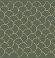 seamless pattern moroccan vintage style vector image vector image